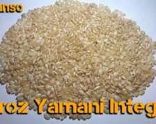 Arroz Yamani Integral 2018
