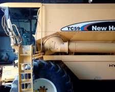 Cosechadora New Holland TC59 - año 2004 - Consultar Precio