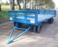 Acoplado Con Barandas P/ 4000kg