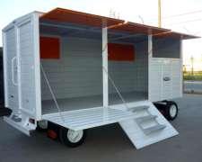 Acoplado Taller Carro Trailer Cerrado Seña y Cheques 30.120