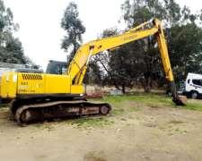Excavadora Hyundai LC-7 LR 210, Long Reach
