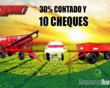Acoplado Tolva Gentili para Semillas y Fertilizantes 10tn.