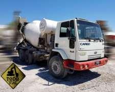 Ford Cargo 2631 2005 6X4 Mixer Indumix 7mt Todo Vial