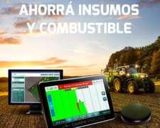 Cp575 Nitro Banderillero Satelital Agricultura De Precisión