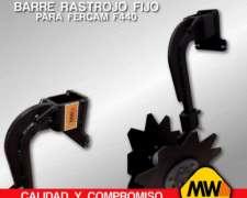 Barre Rastrojo para Fercam F440