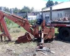 Tractor con Retro para Trabajo Pesado
