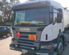 Scania P310 Modelo 2009 4X2 Color Blanco Hermoso