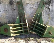 Base Pala Frontal OM 560 para Tractor JD