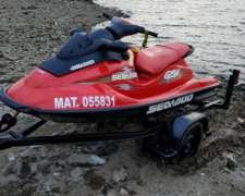 Moto de Agua Seadoo GSX Limited 135 HP Impecable 1999