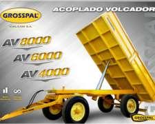 Acoplado Volcador AV 6000 - Grosspal