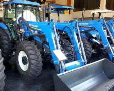 Tractor New Holland TL5.100/4 Cabinado con Pala Original 0km