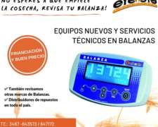 Balanza de UN Eje Abulonada EFE y EFE con Instalación