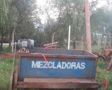 Mezcladora Helicoidal Con Motor Trifásico Marca Lopez