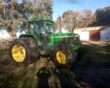 Tractor John Deere 7505 con Piloto