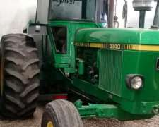 John Deere 3140, 1987 110 HP Tracción Simple