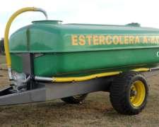 Estercoleras Argenplast 1 Eje