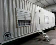 Casas/oficinas/depositos En Contenedores Maritimos ,12 Y 6mt