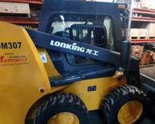 Minicargadora Lonking 307 Nueva.