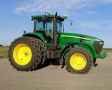 Tractor John Deere 7225j, año 2012