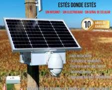 Camara de Seguridad con Panel Solar 100% Autonoma