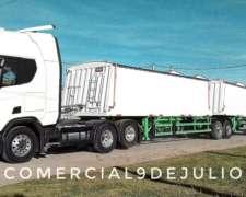 Bitren Tolva Cerealera para Camión Ombu Pbtc 60t
