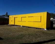 Vivienda en Container de 40 Pies