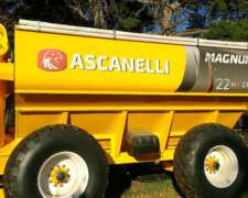 Tolva Ascanelli 22 Tn 27100 Lts - Financiacion 100%