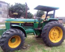 Tractor John Deere 3550 Doble Traccion (4x4) - Plan Cheque