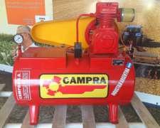 Compresor de Aire de 1 HP Campra