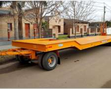 Acoplado Carreton Rural 15 TN para Transporte de Maquinarias
