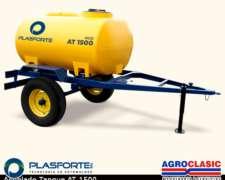 Acoplado Tanque Plasforte 1500 Lts