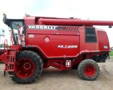 Vassalli AX 7500 Plat 30 Pies Caracol Duales. 800 Hs Repara
