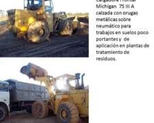 Cargadora Michigan 75 Iiia con Orugas S/ Neumaticos