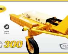 Desmalezadora Hileradora de Arrastre Vg300. Grosspal Nueva