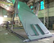 Plataforma Volcadora Hidraulica De 9 Mts