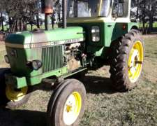 Tractor John Deere 2140 Doble Embrague, Motor Turbo 100 HP