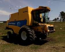 Cosechadora New Holland CS660 - año 2011
