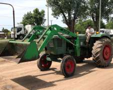 Deutz A85 con Pala Frontal