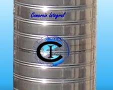 Tanque De Acero Inoxidable 60 Litros Vertical