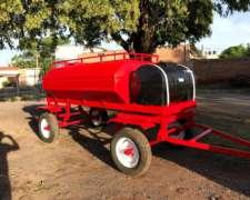 Chango De Gas Oil Con Tanque De Agua