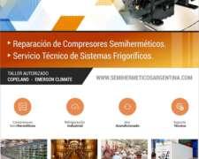 Refrigeración Industrial. Servicio Técnico, Compresores