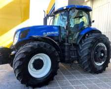Tractor New Holland T7.245/4c sin Levante Patón - Usado