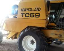 Cosechadora New Holland Tc59, 23p, 5800 Hs, Monitor De Rdto.