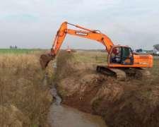 Excavadora Doosan Dx225 - Impecable