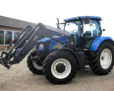Tractor New Holland del año 2010, 120 CV y 2300 Horas