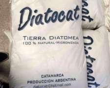 Diatocat - Tierra Diatomea 85% Silicio - Natural Micronizada