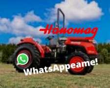 Tractor Hanomag FR65 60hp 4wd U-lenta Agrícola