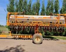 Sembradora Cele de 12 a 52 Doble Fertilización Autotrailer