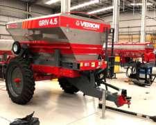 Fertilizadora de Arrastre Griv 4.5 Full Hidraulica Variable