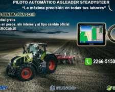 Piloto Automático AG Leader para Siembra. Bonificación 10%